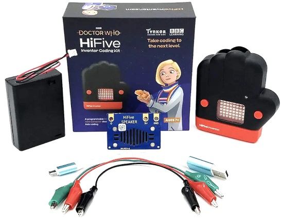 """Doctor Who """"HiFive Inventor"""" Coding Kit"""
