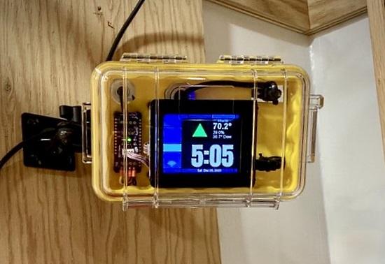 PyPortal-based workshop corrosion monitor