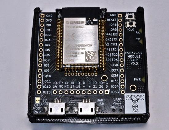 Targett ESP32-S2 Module Clips