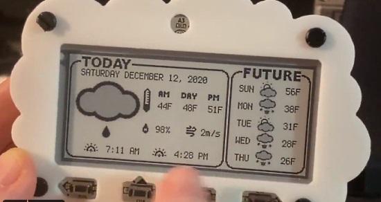 MagTag based Weather Display