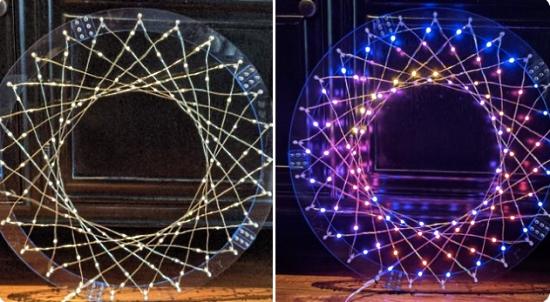 Woven light strands