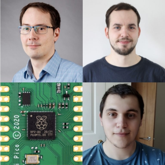 Embedded Hardware with the Raspberry Pi Team