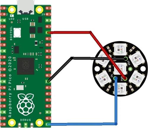 Pico NeoPixels in MicroPython