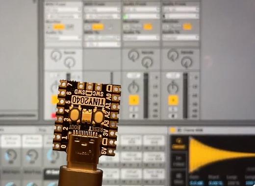 Tiny2040 MIDI