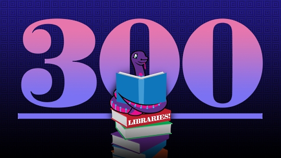 300 Libraries