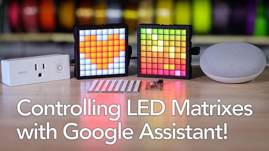 Send messages to an LED Matrix using CircuitPython