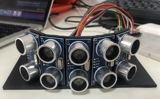 Sonar sensor array with Arduino and Python
