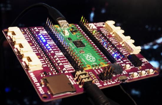 Electric LED drips on Cytron Maker Pi Pico