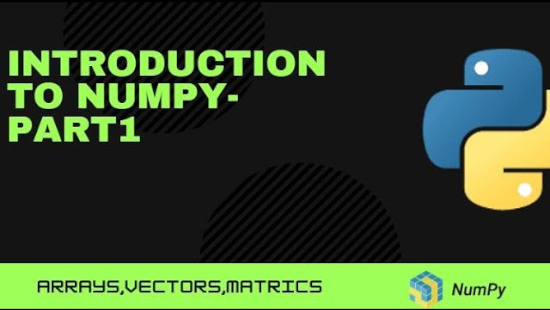 Introduction to Numpy