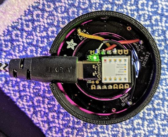 Simple USB volume control