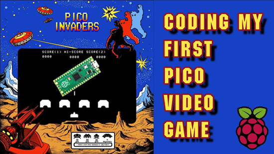Pico Invaders
