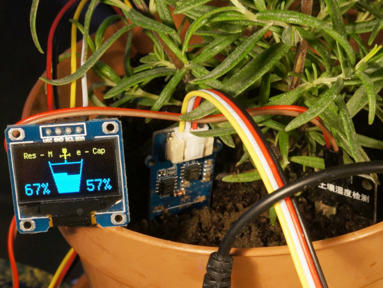 Soil Moisture Sensing With the Maker Pi Pico