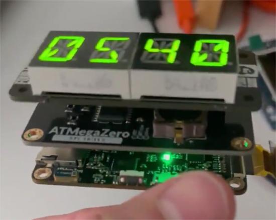 Testing the ATMega Zero Prototypes