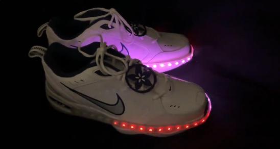 CircuitPython-powered shoes