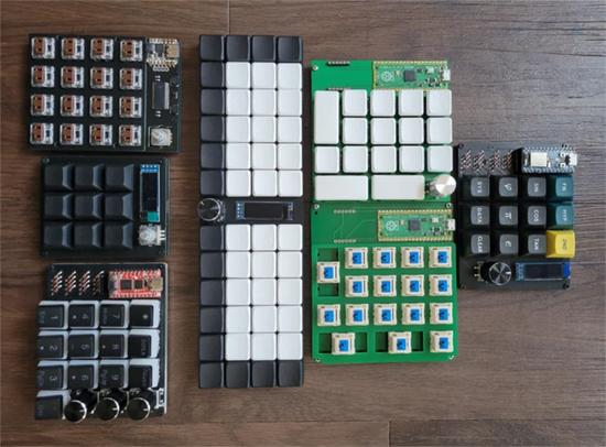 CircuitPython Keyboard and Macro Pads