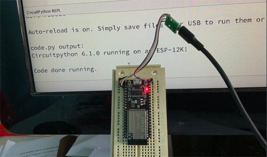 CircuitPython on ESP-12K