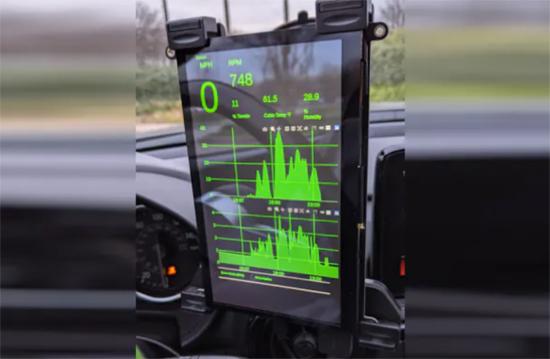 Pi car dashboard