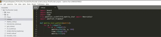 Pico and Sublime Text