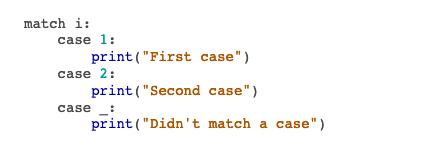 Switch-case