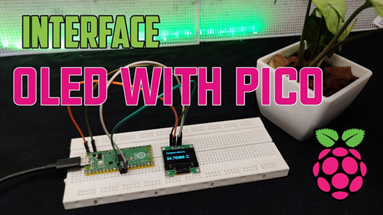 How to interface OLED with Pico