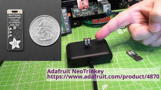 First look at Adafruit Neo Trinkey