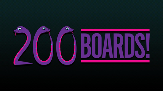 200 boards!