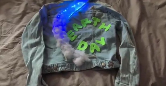 Earth Day Light up Jacket