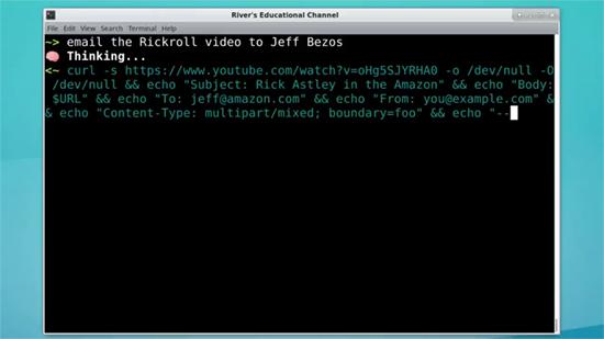 OpenAI shell