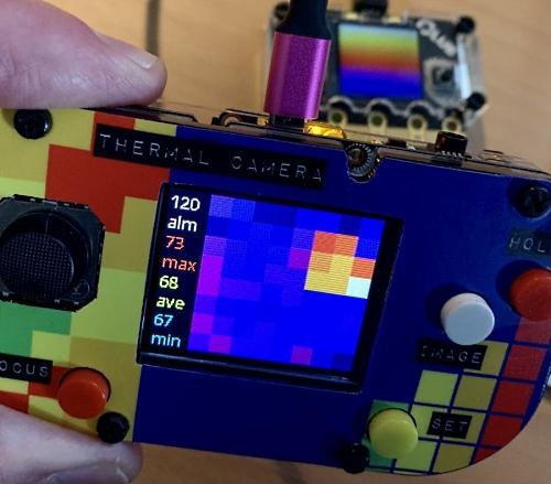 Py Gamer thermal camera