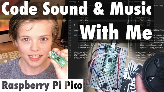 Code sound and music with Pico