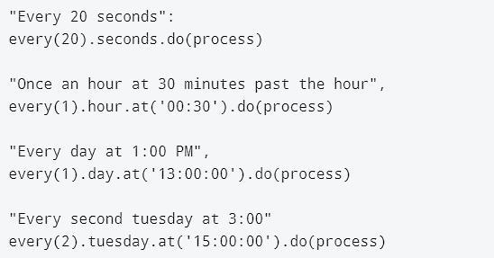 Scheduling on CircuitPython
