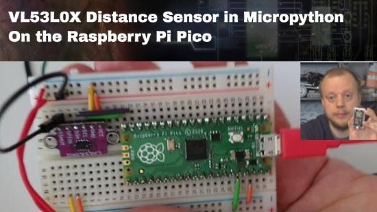 Raspberry Pi Pico with 2 x VL53L0x