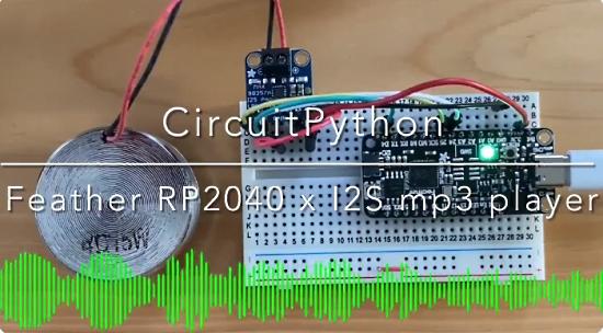 CircuitPython MP3