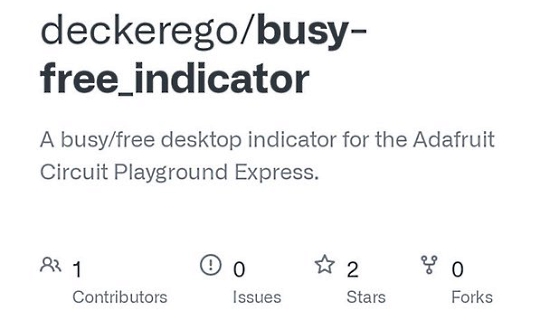 Free/Busy Indicator
