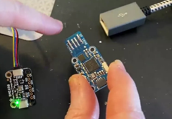 Adafruit Trinkey RP2040 with QT connector