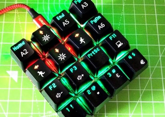 RP2040 Powered Shortcut Keyboard