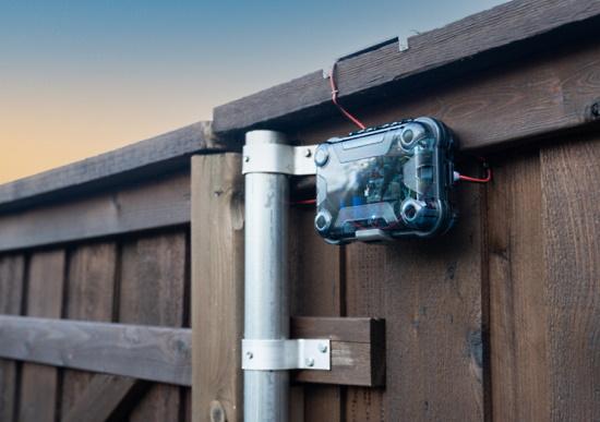 HomeKit Connected Fence Door