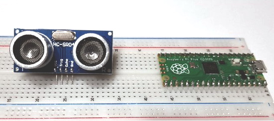 Control an HC-SR04 Ultrasonic Sensor