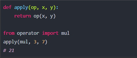 Python's Operator Module