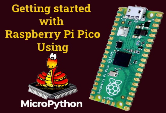 Getting started with Raspberry Pi Pico using MicroPython