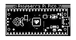 A pixel-model of the Raspberry Pi Pico