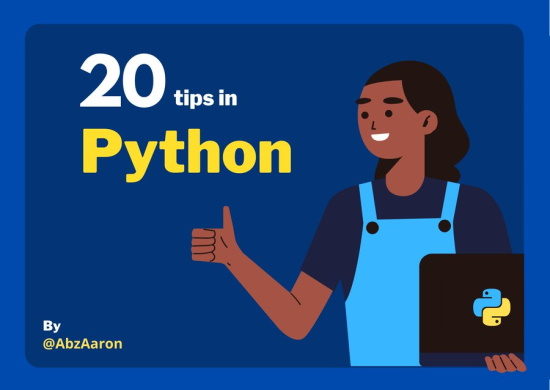 20 useful tricks & tips in Python