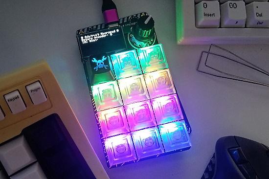Adafruit's RP2040 MacroPad