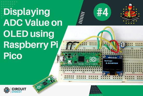 ADC on Raspberry Pi Pico using MicroPython