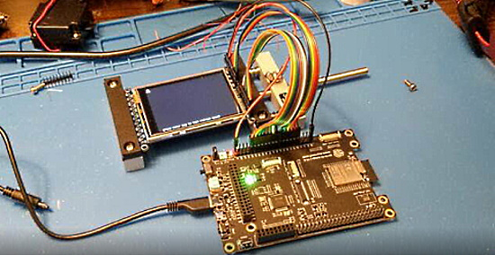 Parallel LCD displays