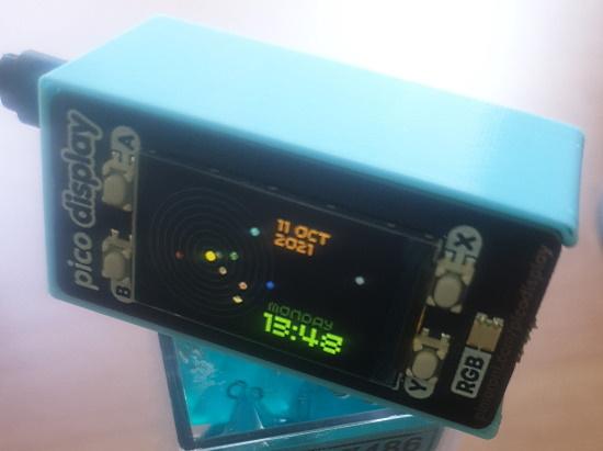 MicroPython Clock