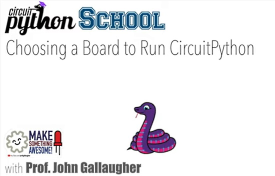 Choosing a Board for CircuitPython